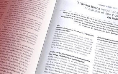 Entrevista al Director Gerente de DIREMA S.A. en LA SEMANA VITIVINÍCOLA